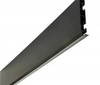 Лобовая доска Nicoll 17 см, темно-серая