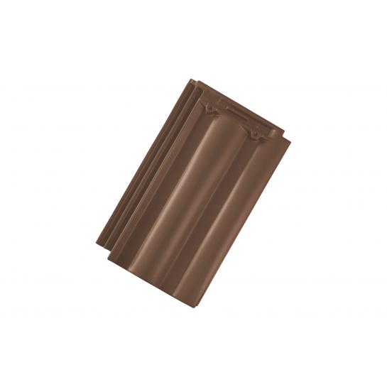 Керамическая черепица Tondach Твист Светло-коричневая Ангоба