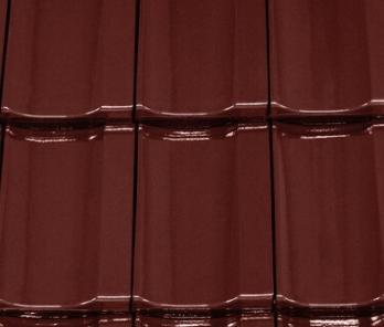 Керамическая черепица Creaton Optima Finesse Красное Вино
