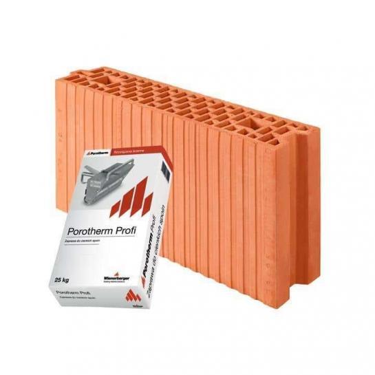 Керамический блок Porotherm 11,5 Profi