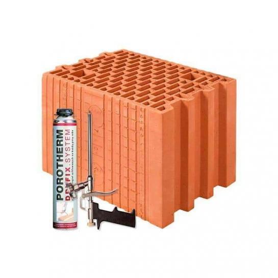 Керамічний блок Porotherm 25 Dryfix