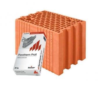 Керамічний блок Porotherm 25 Profi