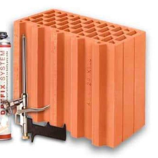 Керамический блок Porotherm 30 1/2 Dryfix