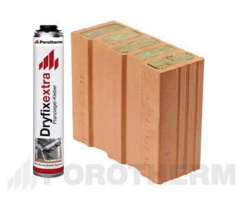 Керамічний блок Porotherm 30 1/2 T Dryfix