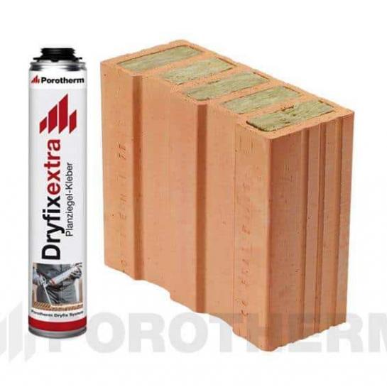 Керамический блок Porotherm 30 1/2 T Dryfix