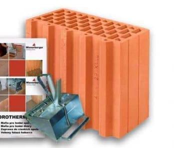 Керамічний блок Porotherm 30 1/2 Profi