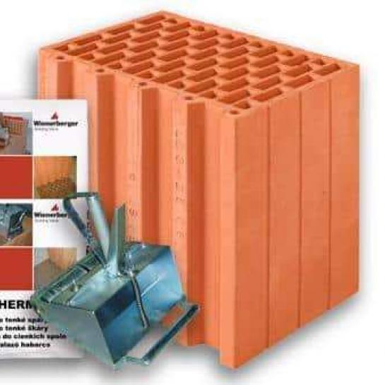 Керамический блок Porotherm 30 R Profi
