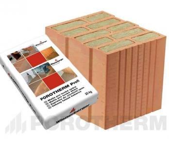 Керамічний блок Porotherm 30 T Profi