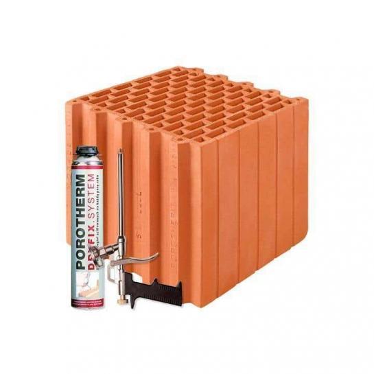 Керамічний блок Porotherm 30 Dryfix