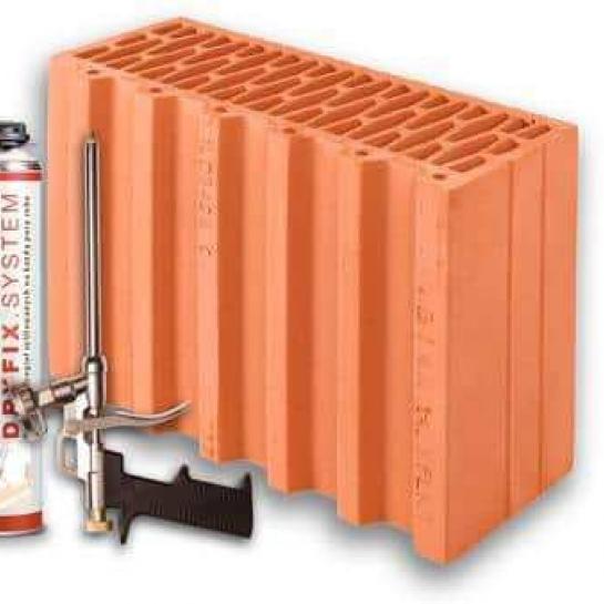 Керамічний блок Porotherm 38 1/2 Dryfix