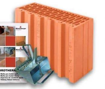 Керамічний блок Porotherm 38 1/2 Profi