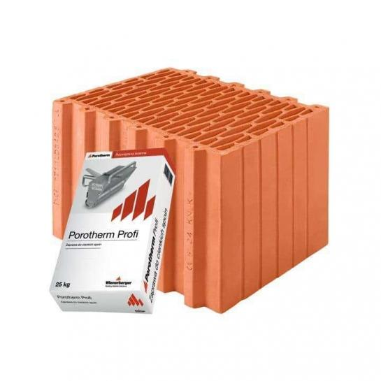 Керамічний блок Porotherm 38 Profi