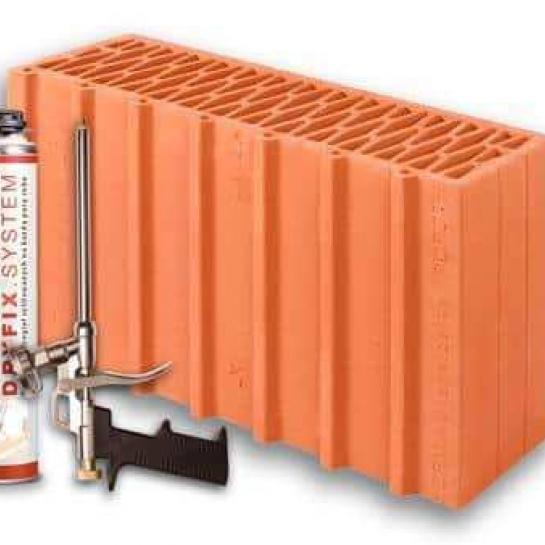 Керамический блок Porotherm 44 1/2 Dryfix