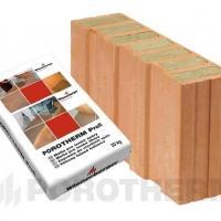 Керамический блок Porotherm 44 1/2 T Profi