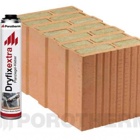 Керамічний блок Porotherm 44 T Dryfix