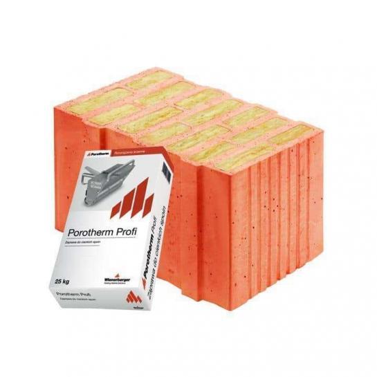 Керамічний блок Porotherm 44 T Profi