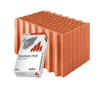 Керамічний блок Porotherm 44 Profi