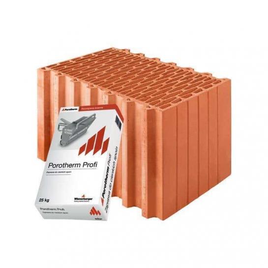 Керамический блок Porotherm 44 Profi