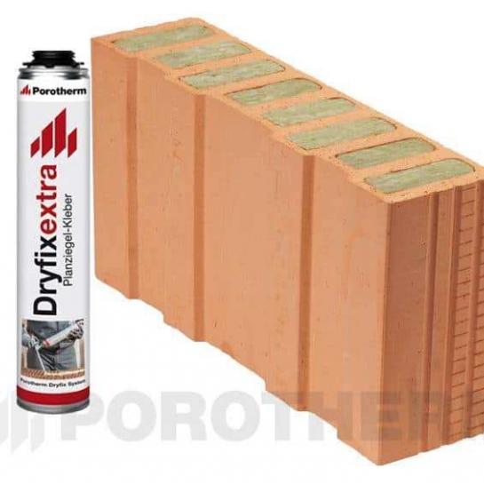 Керамический блок Porotherm 50 1/2 T Dryfix