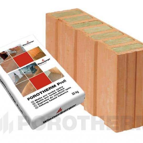 Керамічний блок Porotherm 50 1/2 T Profi
