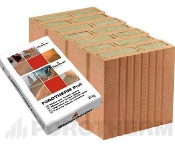 Керамический блок Porotherm 50 T Profi