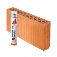 Керамический блок Porotherm  8 Dryfix