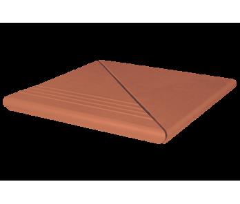Комплект угловой венецианский гл./риф. King Klinker Ruby-red