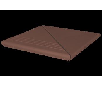Комплект угловой венецианский гл./риф. King Klinker Natural brown