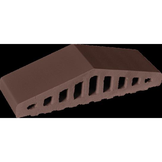 Профільна цегла King Klinker Natural brown Повна (КО-310/250x65x78)