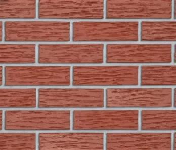 Облицовочный кирпич Roben MELBOURN NF 26 Красный рифленый