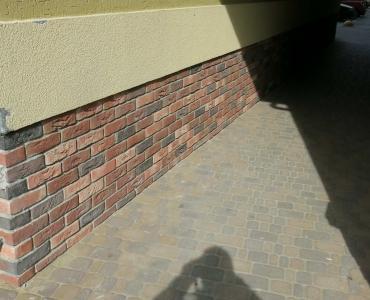 Фасадна плитка Loft Brick Бельгійський 07 Чорний 240x71 мм