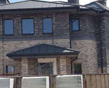 Фасадна плитка Loft Brick Квебек Сірий з підпалом 210x65 мм