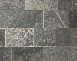 Мрамор Black Marble Tumbled Dark 1.2*20,3XFL см