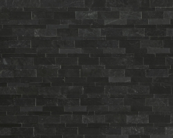 Мрамор Black Marble Filled&Honed Mosaik