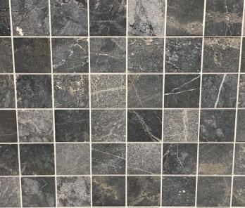 Мрамур Black Marble Sanblasted&Brushed Face 1*10*10 см