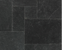 Мрамор Black Marble Tumbled French Pattern