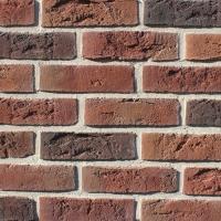 Фасадная плитка Loft Brick Бельгийский 08 Красный 240x71 мм