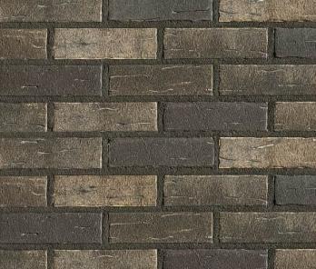 Фасадная клинкерная плитка Roben Aarhus NF серебряно-серый
