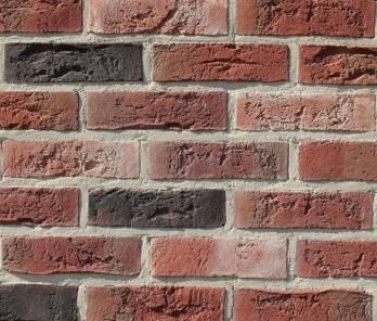 Фасадная плитка Loft Brick Бельгийский 07 Черный 240x71 мм