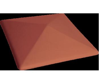 Капелюх керамічный Kingklinker Ruby-red (310x310x80)