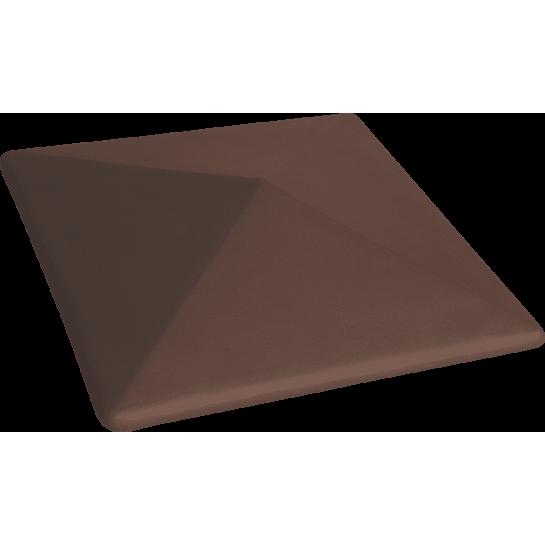 Шляпа керамическая Kingklinker Natural brown (445x585x106)