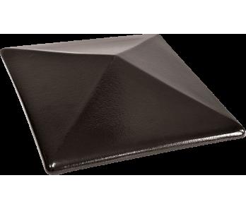 Капелюх керамічный Kingklinker Onyx black (445x445x90)