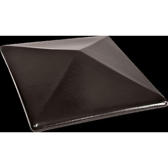 Шляпа керамическая Kingklinker Onyx black (445x585x106)