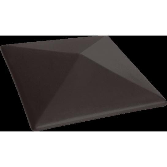 Шляпа керамическая Kingklinker Volcanic black (310x310x80)