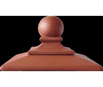 Капелюх керамічный ROYAL Kingklinker Ruby-red (445x445x250)