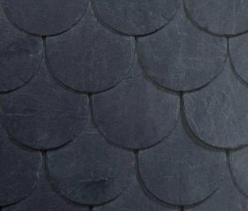 Покрівельний сланець Сupa pizarras 5 Bullnose UH (30х20 см)