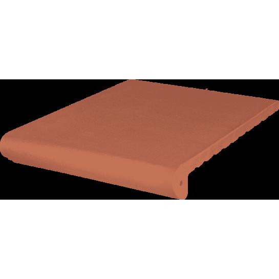 Ступень антическая гл./риф. Kingk Kinker Ruby-red (330x245x16)