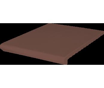 Ступень венецианская гл./риф. Kingk Kinker Natural brown (330x245x14)
