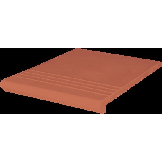 Ступень венецианская гл./риф. Kingk Kinker Ruby-red (330x245x14)
