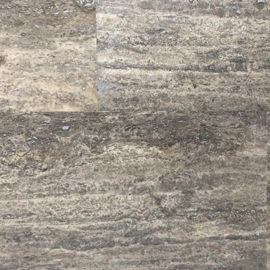 Травертин Filled&Honed Silver Vein Cut 1.2*30.5*61 см
